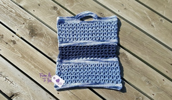 Country Girl Market Tote Free Crochet Pattern