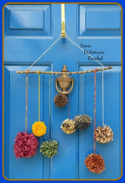 Pompom Front Door Decoration