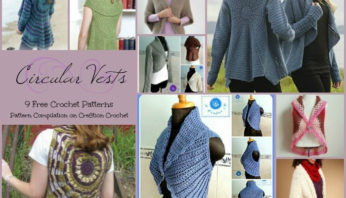 Circular Vests Pattern Compilation