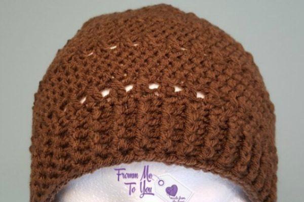 Fall Lovin Beanie Free Crochet Pattern