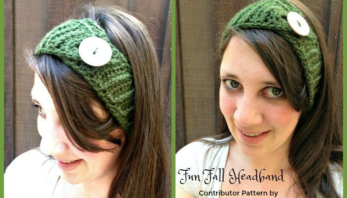 Fun Fall Headband Free Crochet Pattern