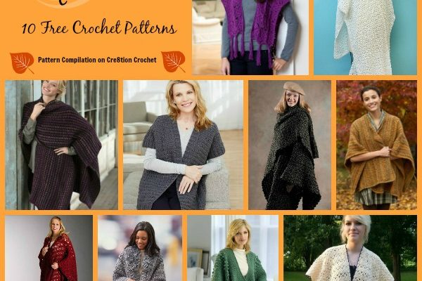 Comfortable Ruana Wrap Pattern Collection