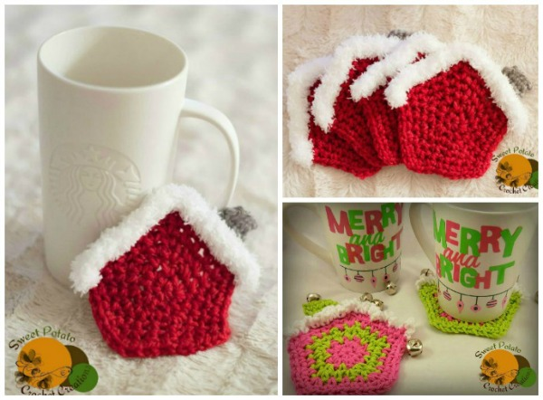 This fun and festive Candy House Coaster will surely add some holiday spirit and cheer to your home this coming holiday season. These can also make great stocking stuffer gifts.