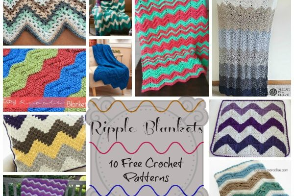 Ripple Blankets Pattern Collection