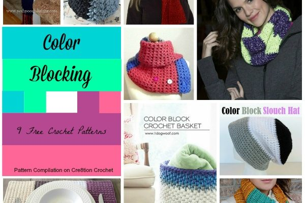 Color Block Free Crochet Patterns