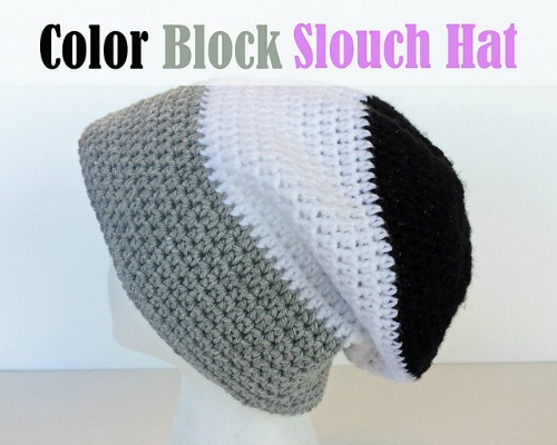 Color Block Slouch