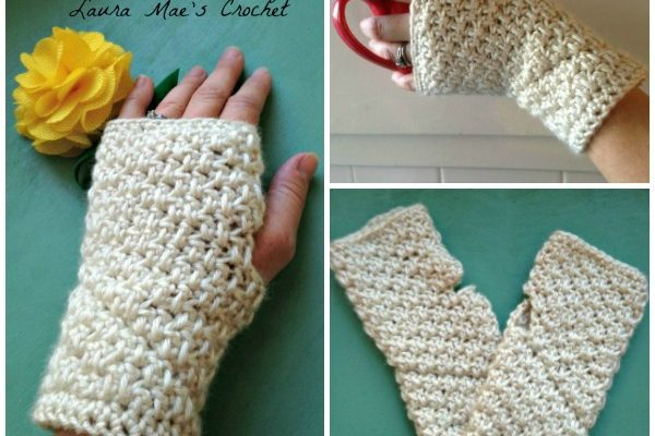 Huntington Arm Warmers Free Crochet Pattern
