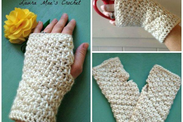 Huntington Arm Warmers Free Crochet Pattern