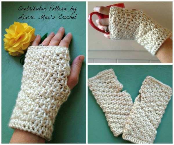 Huntington Arm Warmers Free Crochet Pattern Cre8tion Crochet