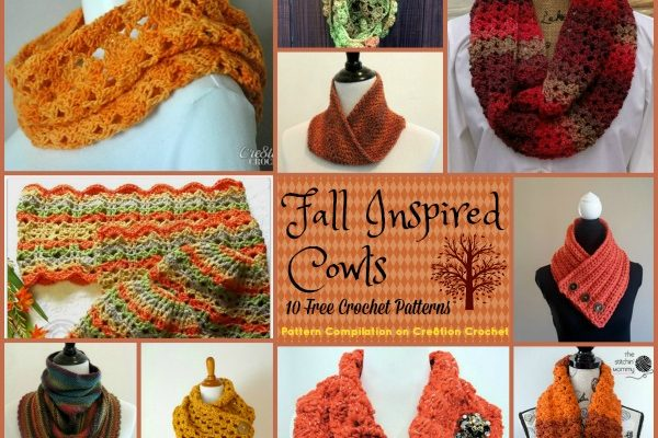 Fall Inspired Cowls Pattern Compilation