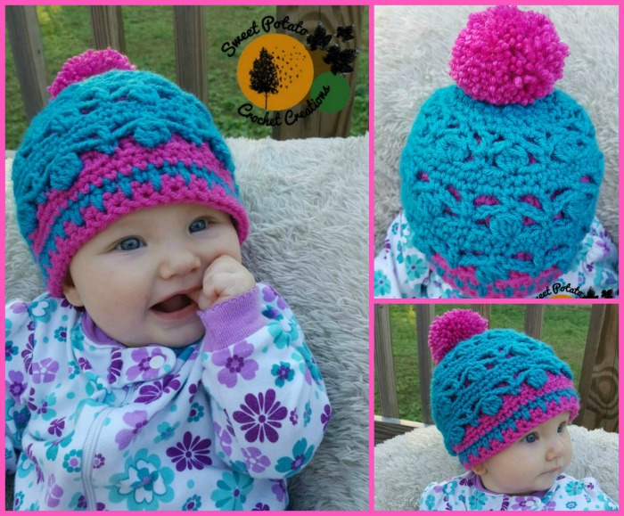 The Dancing Aspen Beanie has a unique and interesting design with its two layers. It'll keep your little one's head warm while adding an interesting look.