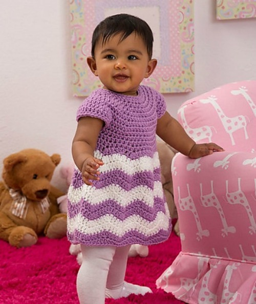 chevron-chic-baby-dress