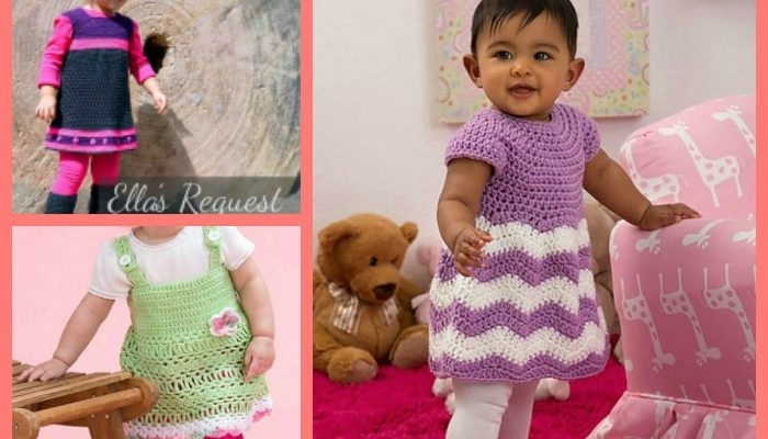 Cute Girl's Dresses Pattern Collection