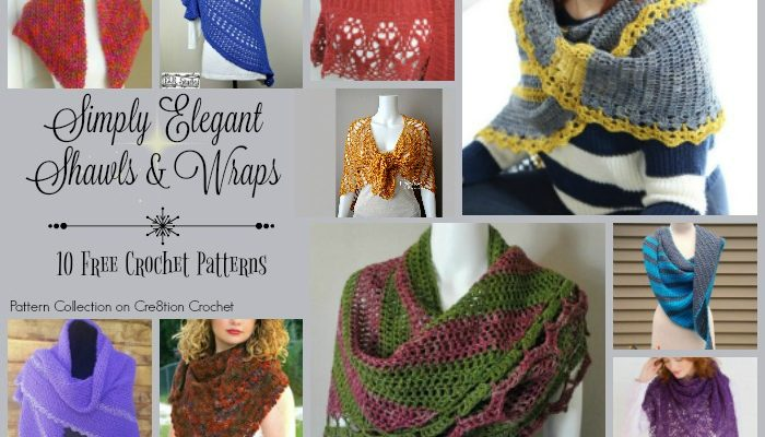Simply Elegant Shawls & Wraps Pattern Collection