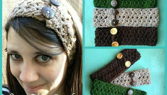 Simple Shell Headband Free Crochet Pattern