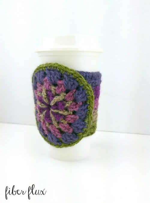 Strawflower Medallion Cup Cozy
