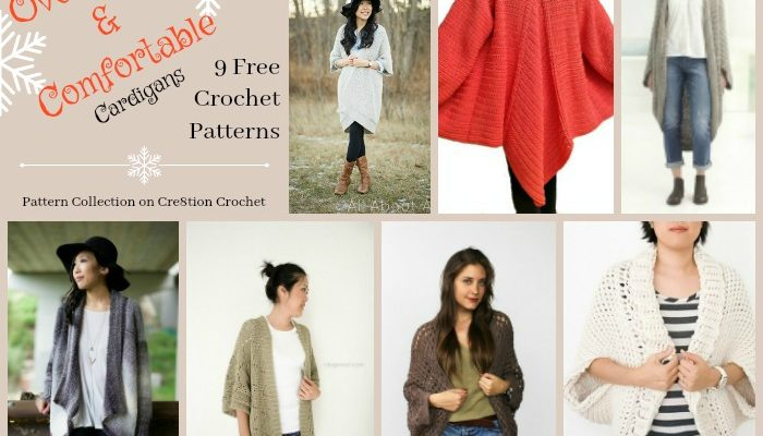 Oversized & Comfortable Cardigans Pattern Collection