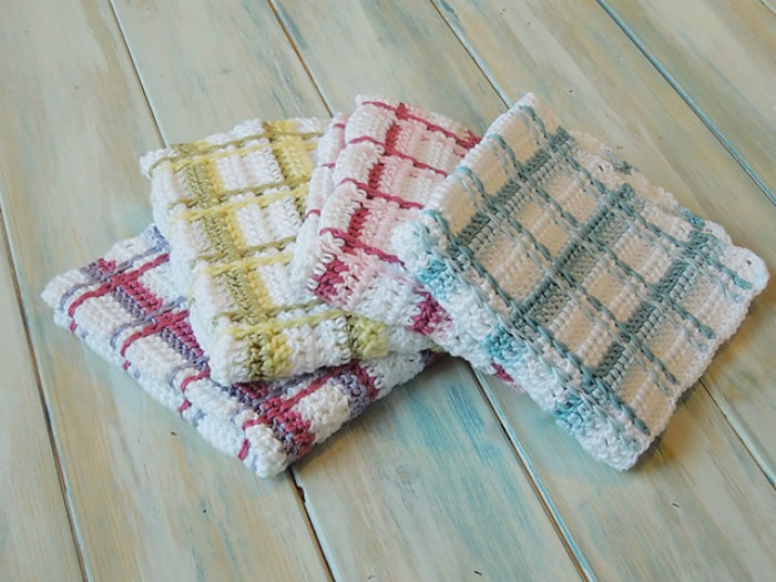 Pretty In Plaid Pattern Collection Cre8tion Crochet