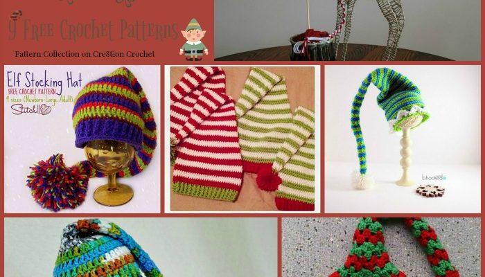 Adorable Elf Hats Pattern Collection