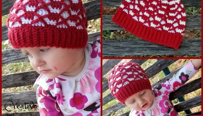Stronger Together Mini Slouch Free Crochet Pattern