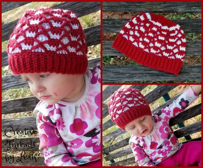 A reversible and textured hat, this will work for team spirit colors or any combination you use.
