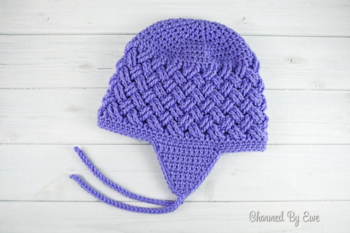 Hats With Ties Earflaps Pattern Compilation Cre8tion Crochet