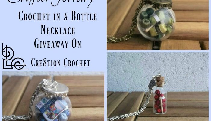 CrafterJewelry a Crochet in a Bottle Necklace Giveaway