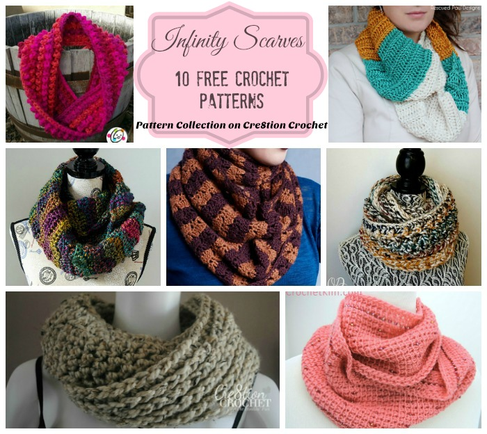 Infinity Scarves Pattern Collection - Cre8tion Crochet