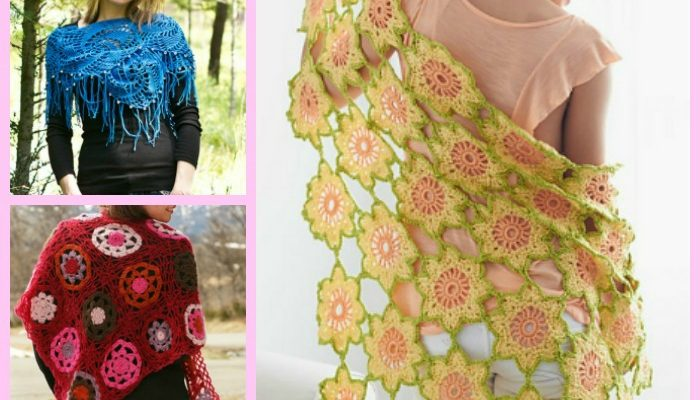 Motif Shawls Pattern Collection