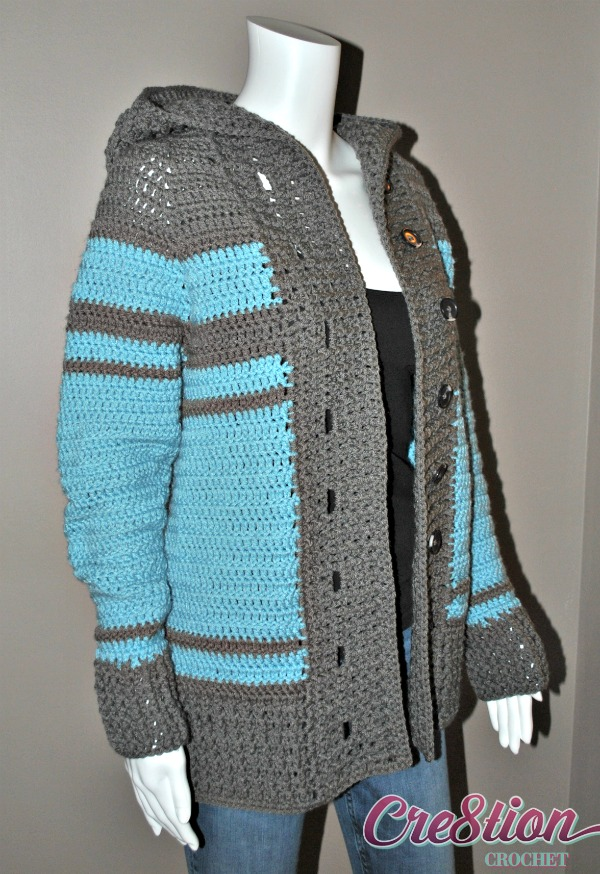 So Cal Clothing >> Fall CAL- Keep Me Warm Cardigan - Cre8tion Crochet