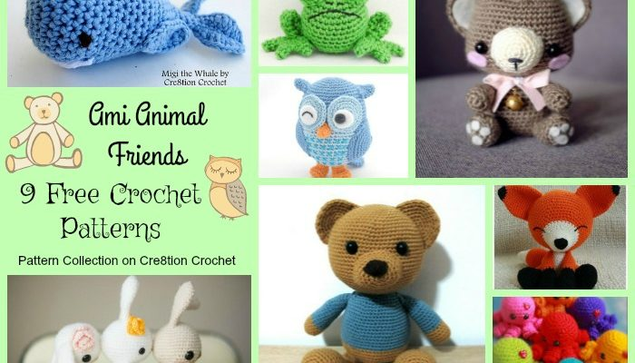 Ami Animals Friends Pattern Collection