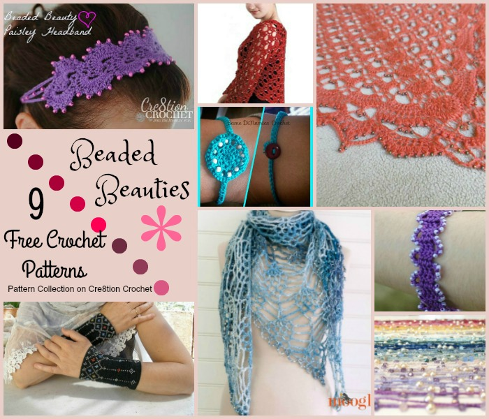 Beaded Beauties Pattern Collection Cre8tion Crochet