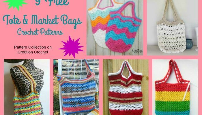 Tote and Market Bags Pattern Collection