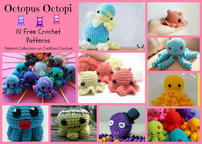 Kawaii Octopus Crochet Pattern | Octopus crochet pattern, Easy ... | 500x700