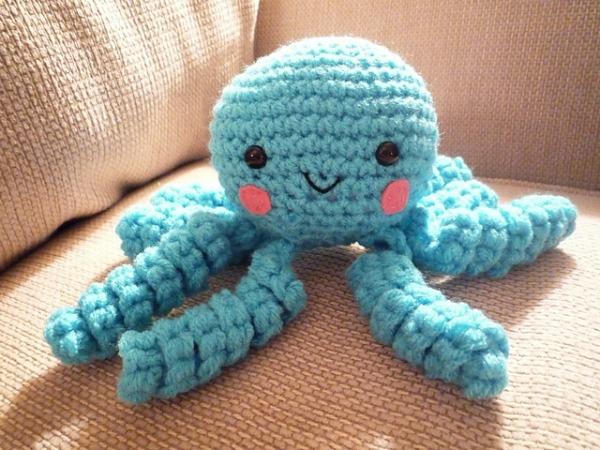 Amigurumi Octopus Mohu : Octopus octopi pattern collection cre8tion crochet
