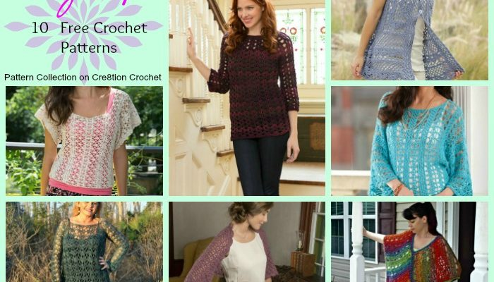 Lacy Tops Pattern Collection