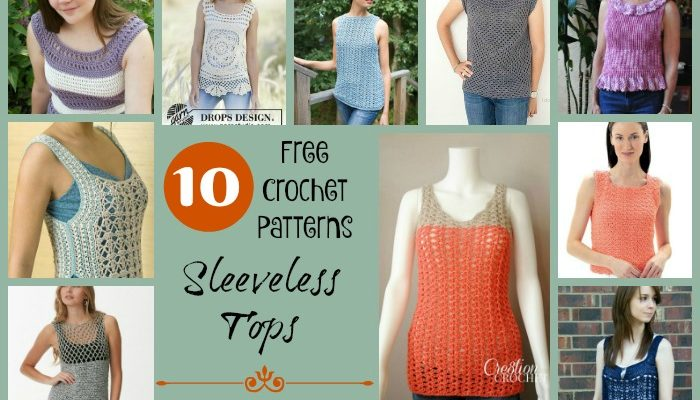 Sleeveless Tops Pattern Collection