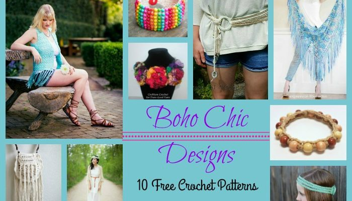 Boho Chic Designs Pattern Collection