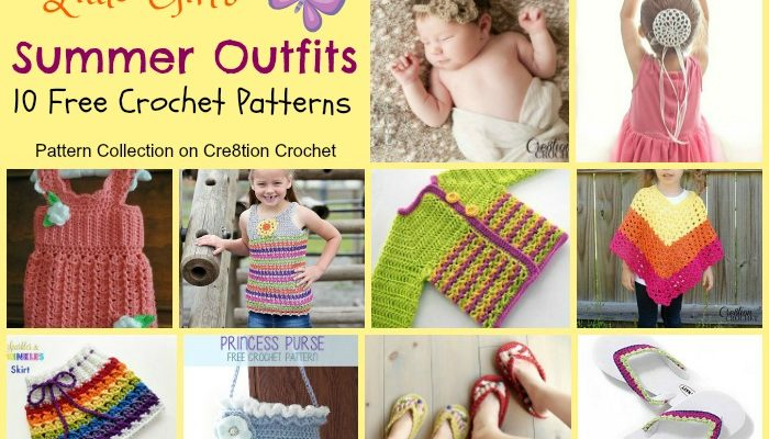 Girl's Summer Outfits Pattern Collection