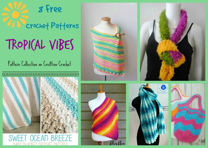 Indulge yourself up with these gorgeous patterns that have bright, tropical colors or are even appropriate for a tropical trip (be it the beach or islands!) in style and design.