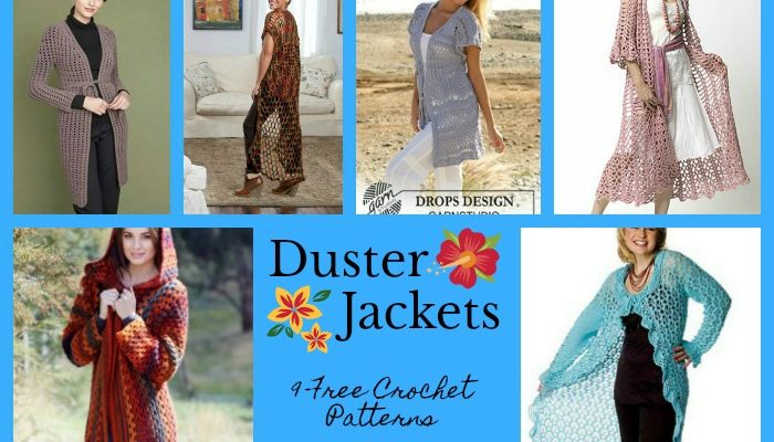 Duster Jacket Pattern Collection