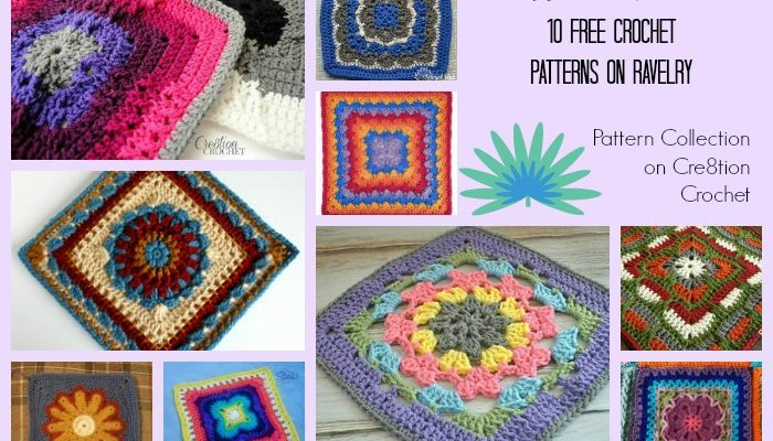 Afghan Squares Pattern Collection
