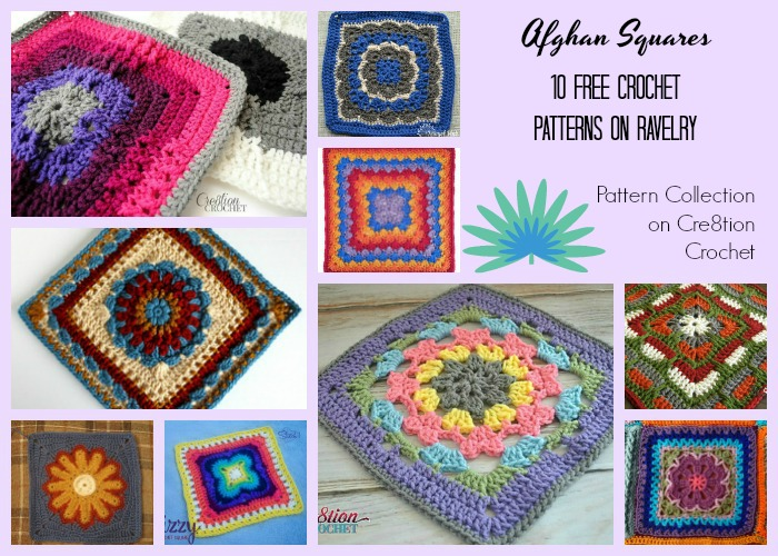Afghan Squares Pattern Collection - Cre8tion Crochet