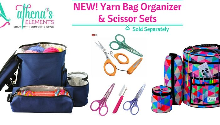 Athena's Elements Yarn Storage Organizer Review and Giveaway