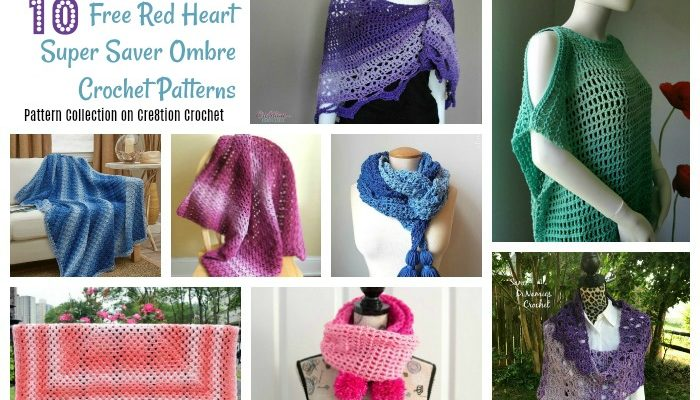 Red Heart Super Saver Ombre Pattern Collection