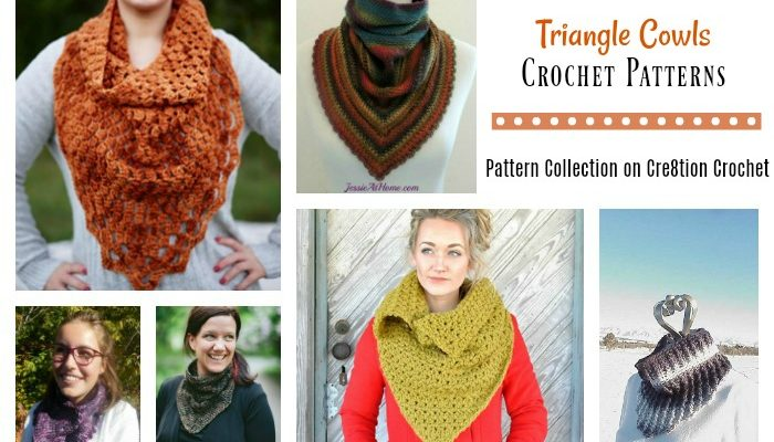 Triangle Cowls Pattern Collection