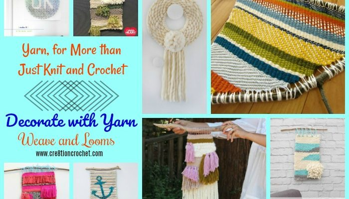 Weave and Looms: Yarn, for More than Just Knit and Crochet