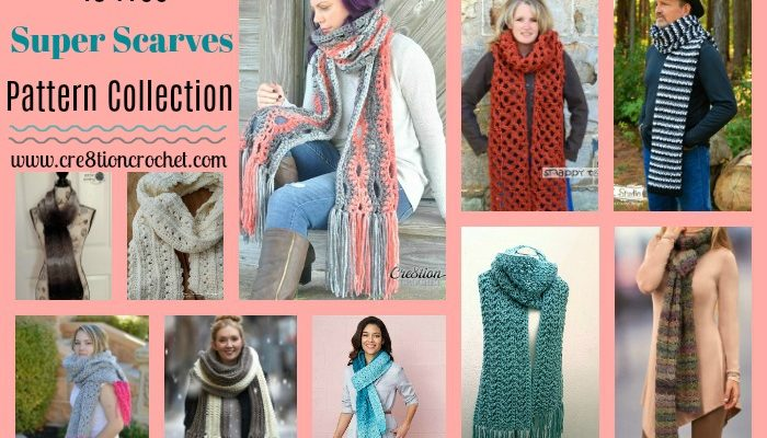 Super Scarves Pattern Collection