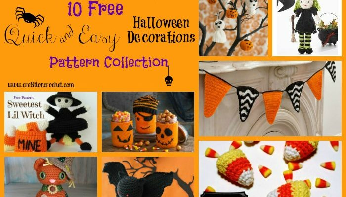 Quick & Easy Halloween Decorations Pattern Collection