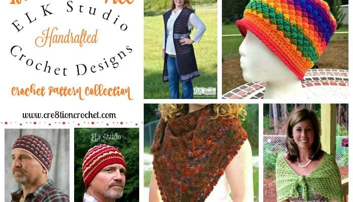 ELK Studio Handcrafted Crochet Designs Pattern Collection